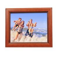 Harga bingkai foto veneer natural cherry ukuran 4r 10x15 bahan   Hargalu.com