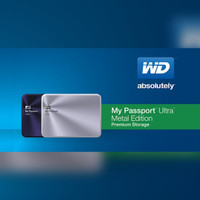 Jual WD My Passport Ultra 1TB Metal Edition USB 3.0 Murah