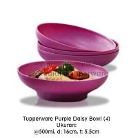 Tupperware Purple Daisy Bowl (4pcs)