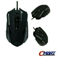 Dragon War Emera G11 Blue Sensor Gaming Mouse BLACK - ELE-G11-BLACK