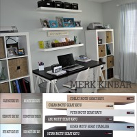 Jual 40x15x4cm Rak Dinding/Ambalan/Melayang/Floating Shelf MERK KINBAR A404 Murah
