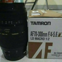 lensa TAMRON AF 70-300mm f/4-5.6 Di Ld macro 1:2 for Canon& Nikon