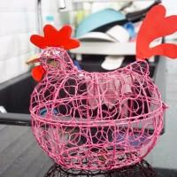 Keranjang Telur Ayam C PINK / XL PINK muat 15 -17 telur ayam (pas 1kg)