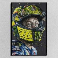 Poster Photo Canvas Valentino Rossi - 40x60cm