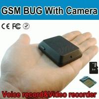 Alat Sadap Suara Dilengkapi Kamera/Spy Cam GSM X-009