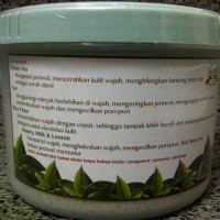 Jual Promo Nature Organic - Lulur Wajah Green Tea 250gr murah Murah