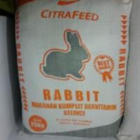 Jual PELET PAKAN MAKANAN KELINCI CITRAFEED CITRA FEED RABBIT FOOD 25 KG Murah