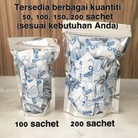 Silica Gel 1gr 200 Sachet Natural Food Grade Anti Jamur Serap Kedap