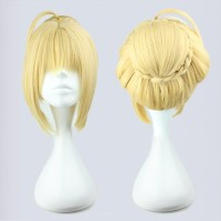 Wig MCoser Blonde 45 cm 180A - Fate Stay Night - Saber