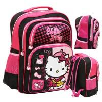 Tas Ransel Hello Kitty Ukuran Anak Sekolah SD - Pink