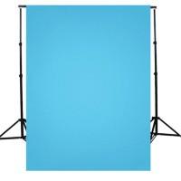 Kain Background foto Biru Muda - Light Blue / Kain bahan berkualitas