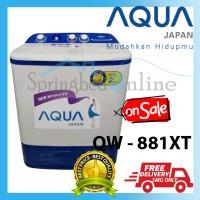 Mesin Cuci Aqua QW-881XT QW881 8kg Hijab Mode Harga Pabrik