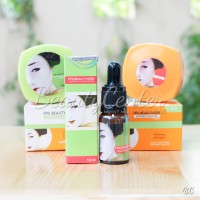 Paket Komplit FPD / Paket Magic Glossy (Cream Siang + Malam + Serum)