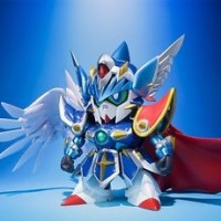 SDX SD Gundam DIVINE KNIGHT WING Action Figure BANDAI NEW from Japan F