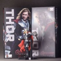 Marvel Hero Avengers THOR Action Statue Figures Kids Comic Figurines C