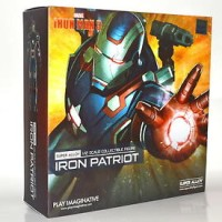 Play Imaginative Super Alloy Iron Man 3 Iron Patriot 6 Inch Scale Acti
