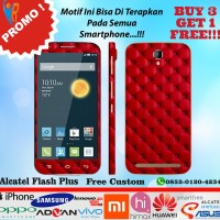 [Promo] Garskin Alcatael Flash Plus Motif Sofa Red - Free Custom
