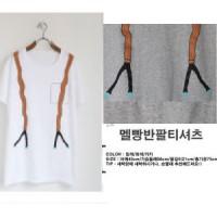 Jual kaos atasan tees pakaian wanita gambar blouse korea h&m zara mango new Murah
