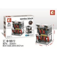 Mainan Sembo block Model SD6541 HSBC ada lampu LED