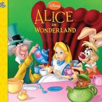 Disney Alice in Wonderland Story Book