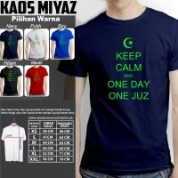 kaos dakwah muslim KEEP CALM AND ONE DAY ONE JUZ