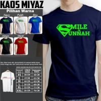 kaos dakwah muslim SMILE IS SUNNAH