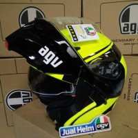 AGV Compact Course Yellow Black (Modular/Flip Up)
