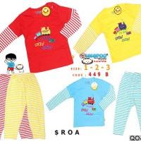 Piyama Anak / Baju Tidur Anak / Setelan Panjang Anak / Piyama Bayi