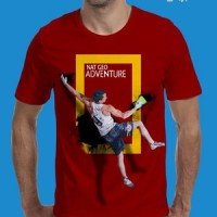 grosir kaos oblong tshirt t shirt 3d national geographic adventure