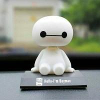 Jual boneka per dashboard mobil lucu kepala goyang baymax ,80.000 Murah