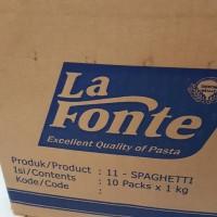 La Fonte spaghetti 1kg 1000gr Durum Wheat