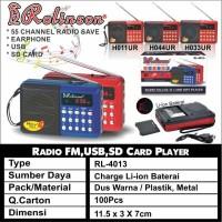 Speaker Mp3 Player Rolinson RL4013 FM Radio Murottal Quran