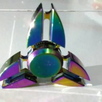 Fidget Hand Spinner Rainbow 3 sisi