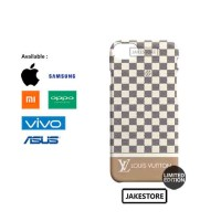 case iPhon 7 Plus louis vuitton damier azur pattern Stripe hardcase