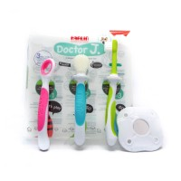 Farlin Doctor J Baby Toothbrush  3 Stage Baby Oral Hygiene Set[HE 784]