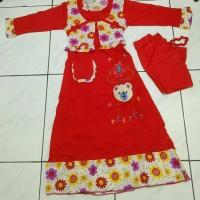 Jual gamis bear new collection (motif sama dgn hello kitty) Murah
