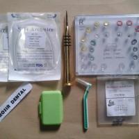 Paket Behel Permanen Bracket Damond Sistem / Self Ligating