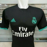 Jersey Bola Real Madrid Away New 17/18 Grade ORI