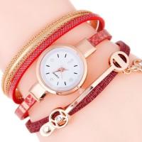 Jual A013 jam tangan duoya unik rantai gelang wanita vintage korea cewek Murah