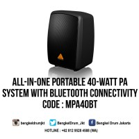 Behringer Compact PA Systems EUROPORT MPA40BT