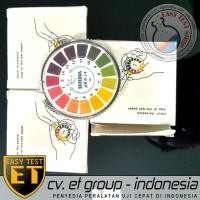 DF UNIVERSAL Roll pH Indicator Paper : Kertas pH Rol Indikator pH 1-14