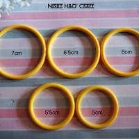 Jual Ring Plastik | Ring Dreamcatcher | Ring Bulat | Ring Jilbab Murah
