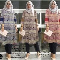 Jual 6761 cleopatra tunic/baju tunik murah/atasan muslim wanita murah Murah