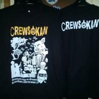 kaos band punk Crewsakan