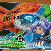 Jual Gasing Petarung Tor blade Mortal Shark G Murah