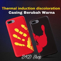 Casing Case Thermal Color Changing by Touch iPhone 6 6s 6Plus 7 7Plus