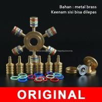 heavyduty brass fidget spinner B 308 EDC desk toys
