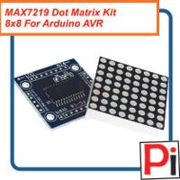 MAX7219 Dot Matrix Display Kit 8x8 For Arduino AVR