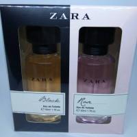 PARFUM CEWE / WANITA - ZARA BLACK & ZARA ROSE (EAU DE TOILETTE) 50ML