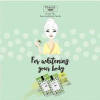 Jual Fleecy Face n Body Scrub Green Tea - Fleecy Green Tea original Murah
